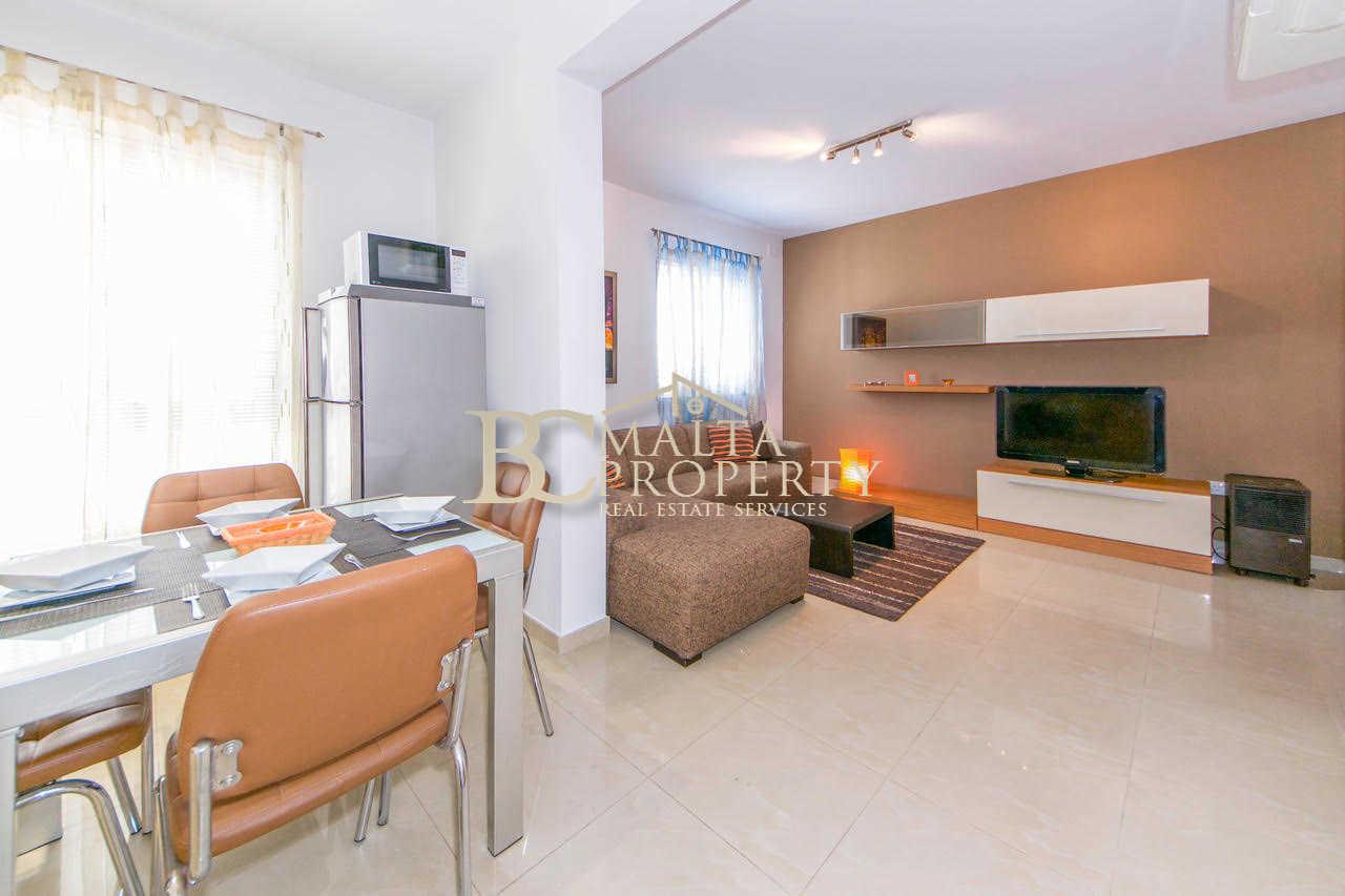 Swieqi Modern And Spacious 1 Bedroom Apartment Bc Malta